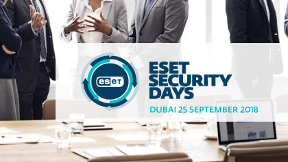 ESET SECURITY DAY – DUBAI 2018