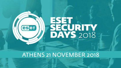 ESET Security Day – Athens 2018